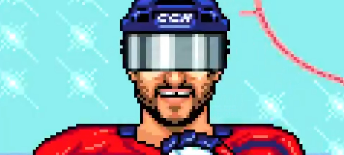 Необычный бонус за предзаказ NHL 21  ретро-игра NHL 94 Rewind с современными игроками