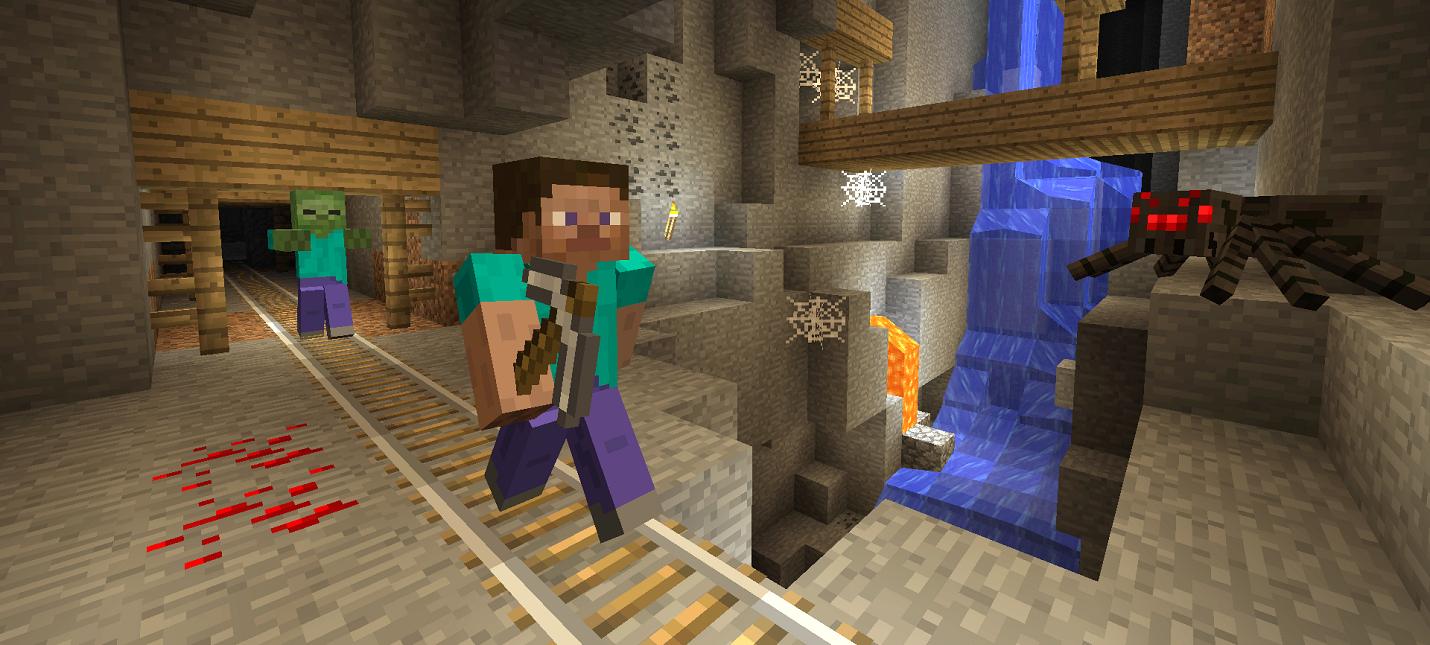 Minecraft получит крупное обновление Caves amp Cliffs в следующем году