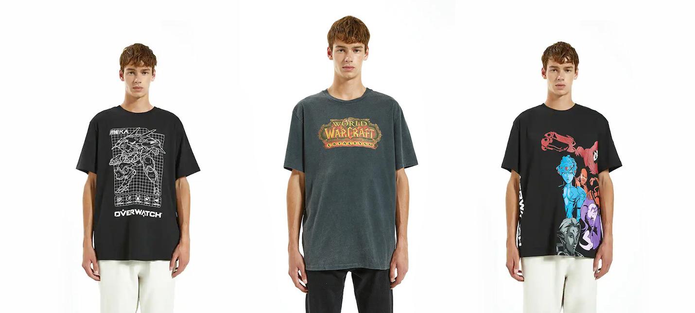 У Blizzard и Pull amp Bear вышла совместная коллекция одежды