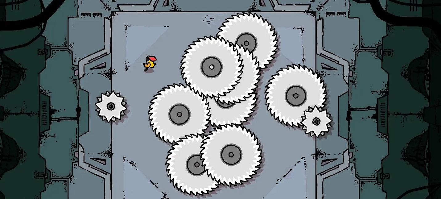 Выживание среди бензопил в трейлере безумной головоломки Disc Room