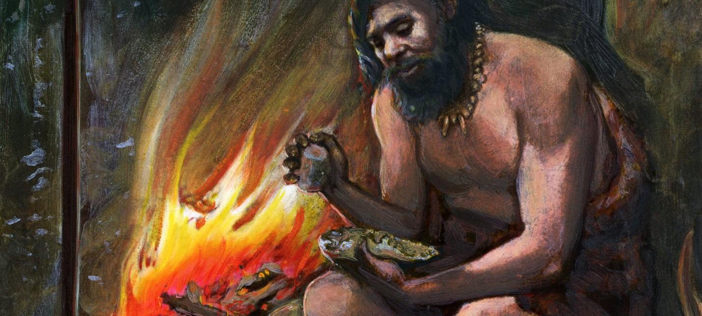 300 тысяч лет назад люди использовали огонь для изготовления орудий