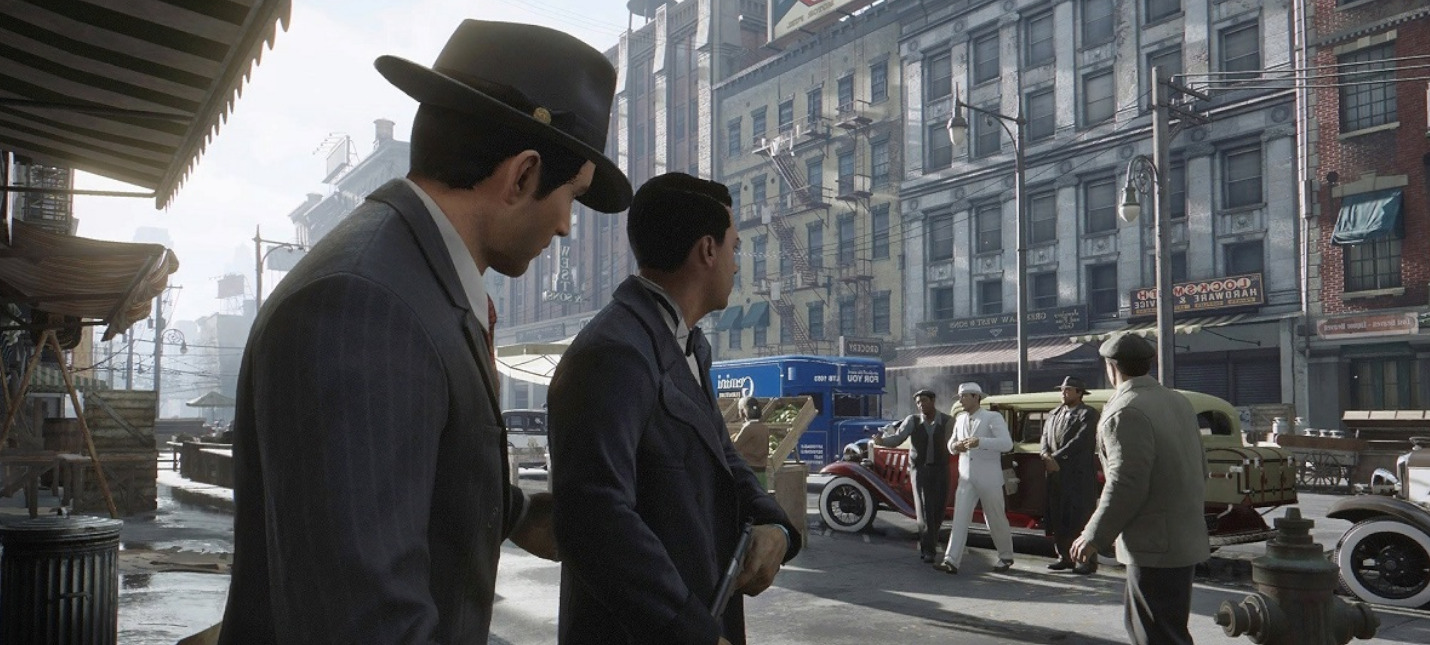 "В Mafia: Definitive Edition появился режим ""Нуар"""