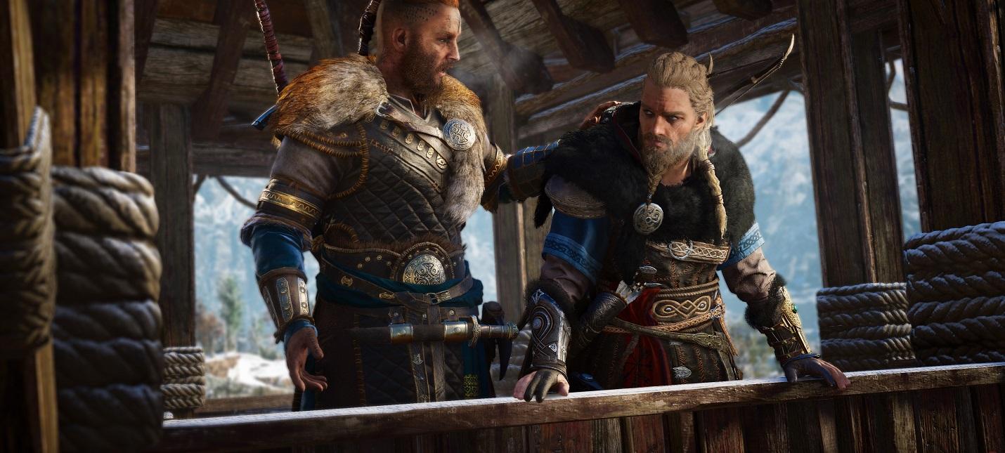 Assassins Creed Valhalla займет 50 ГБ свободного места