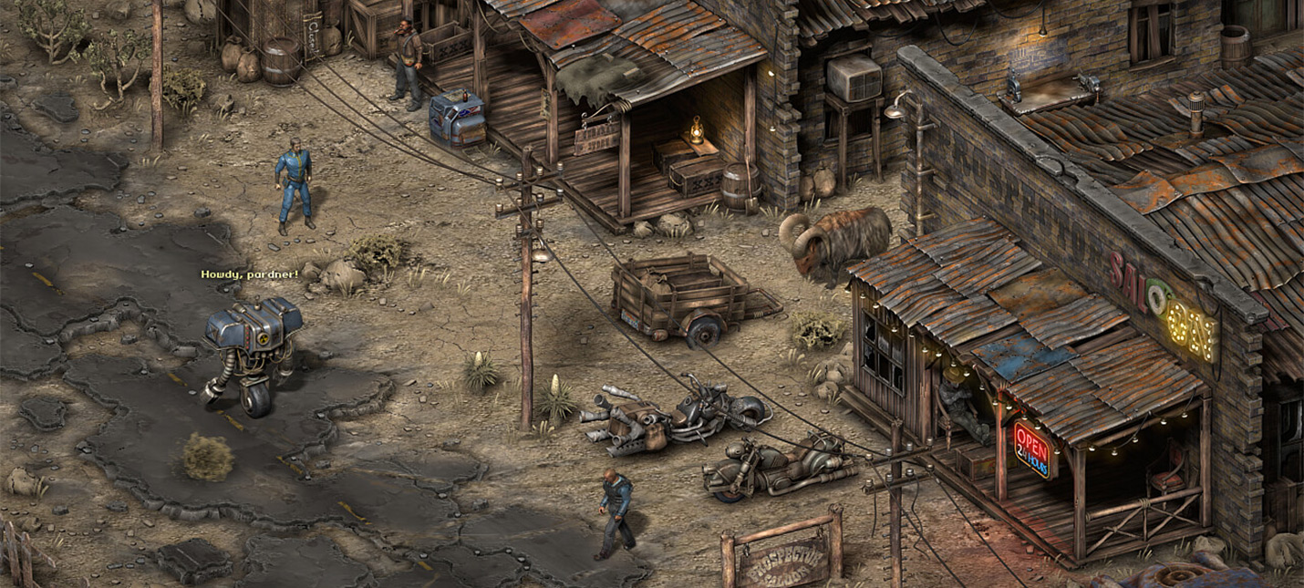 Fallout New Vegas 2  это хорошо, но изометрический Fallout еще лучше
