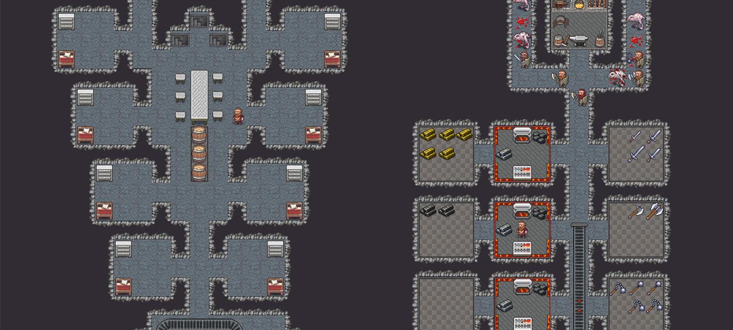 Вот как выглядят дварфы с новой графикой для Dwarf Fortress