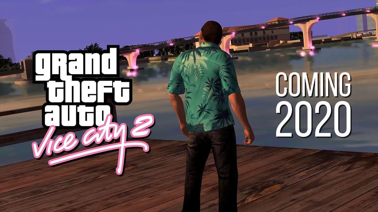 Новые скриншоты и геймплей фанатского ремейка GTA: Vice City
