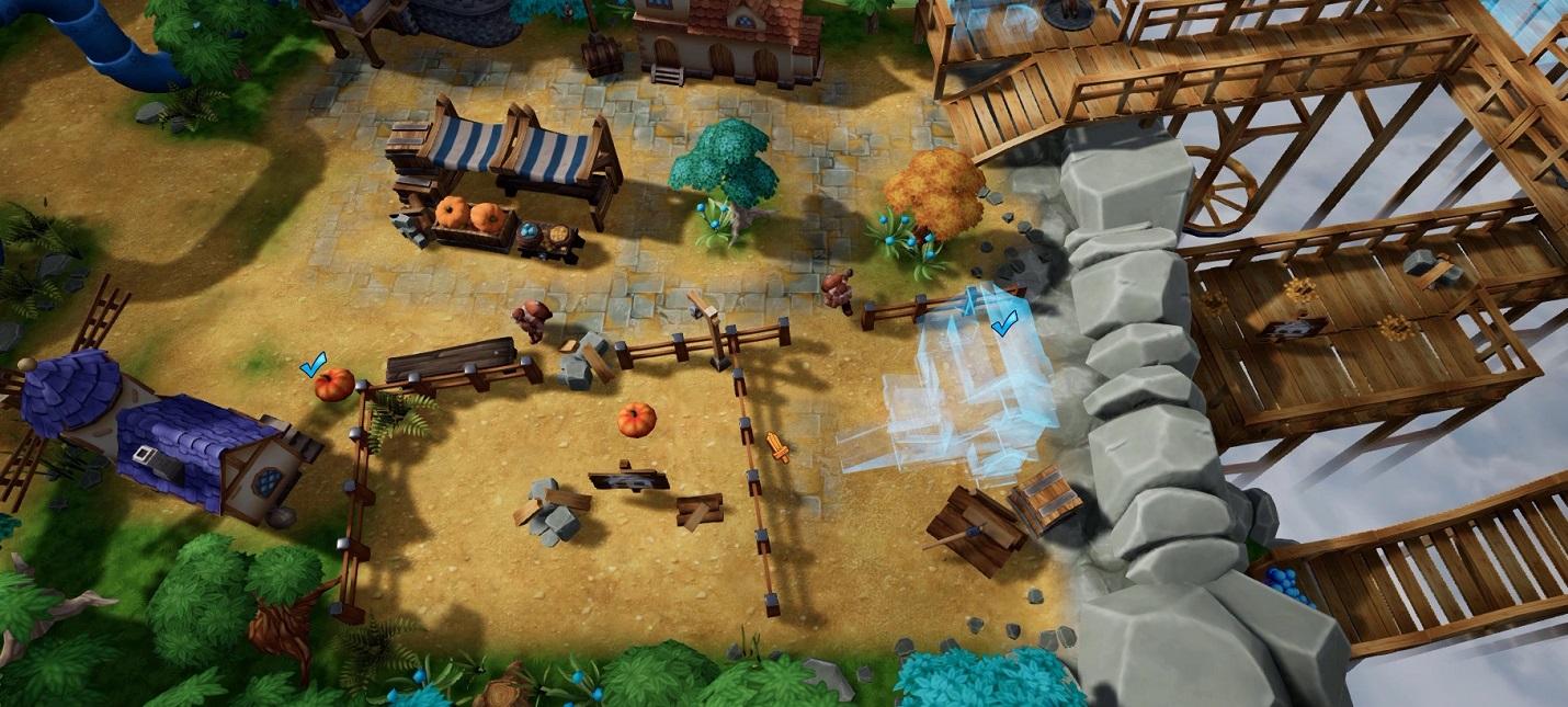 Вышел пролог The Unexpected Quest — стратегии, напоминающей Warcraft и The Settlers