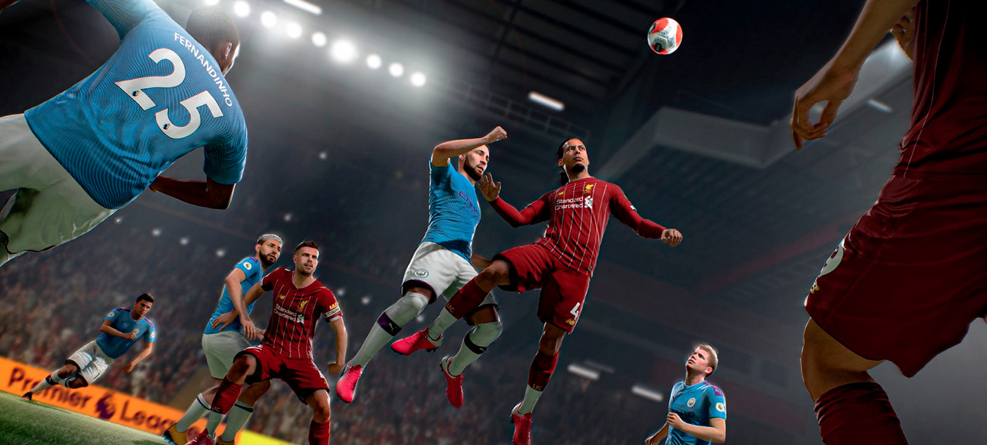 UK-чарт: Настала эпоха FIFA 21