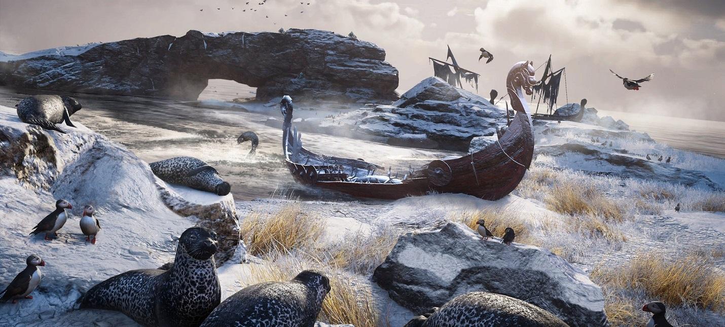 Поселение викингов в Assassins Creed Valhalla станет центром игры