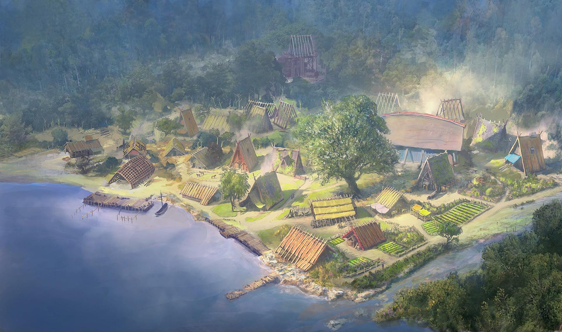 Поселение викингов в Assassin's Creed Valhalla станет центром игры