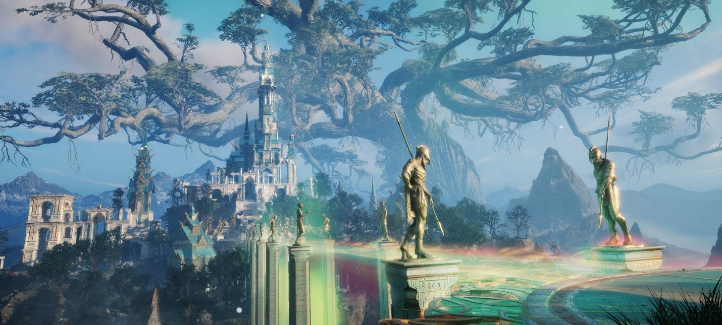 Асгард и мир великанов Йотунхейм на новых скриншотах Assassins Creed Valhalla