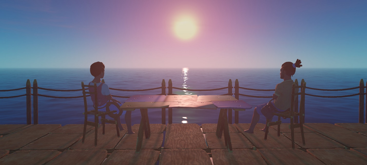 Количество игроков Raft выросло на 1300 после начала второй главы