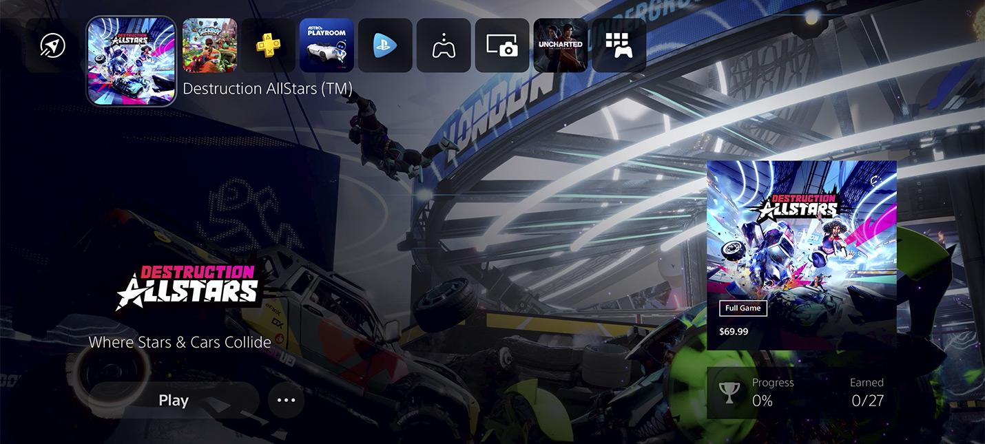 Видео: Подробности пользовательского интерфейса PS5