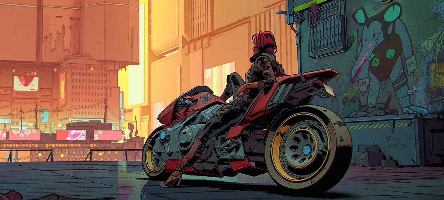 Прямой эфир с презентации авто и другой техники в Cyberpunk 2077  старт в 1900 (МСК)