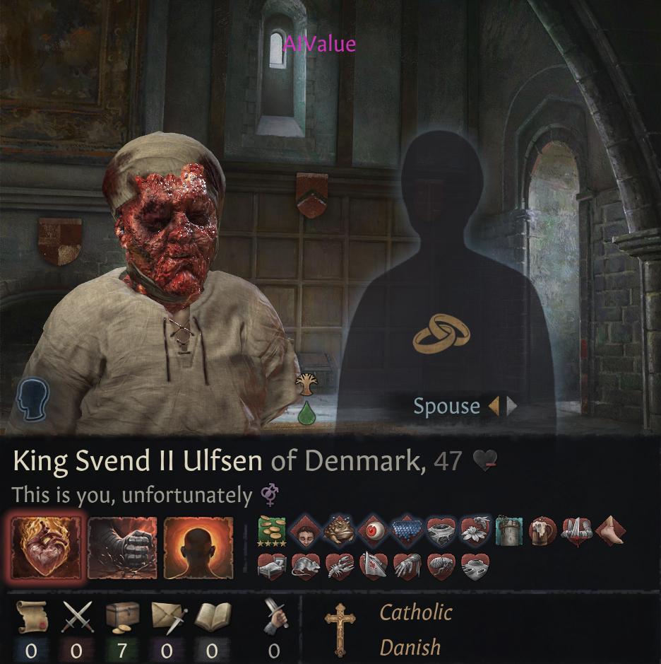 Как выглядят персонажи Crusader Kings 3 со всеми возможными заражениями