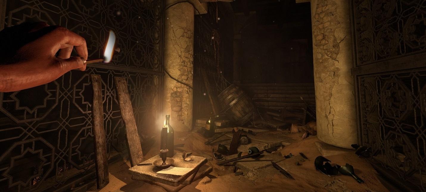 17 минут геймплея Amnesia Rebirth