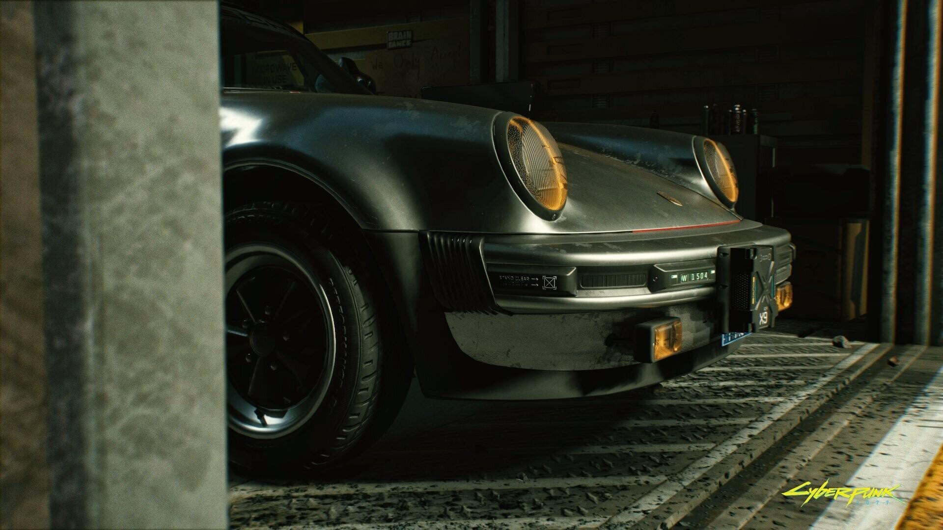 Porsche 911 Turbo для рокербоя и лучший косплей Cyberpunk 2077