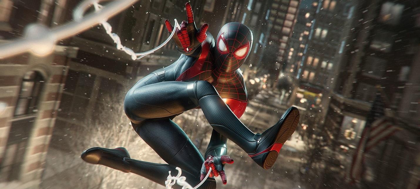 Стелс и прямое столкновение с врагами в новом геймплее Spider-Man Miles Morales