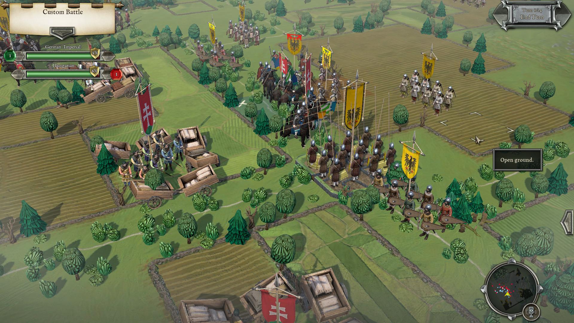 Средневековые войны в первом трейлере стратегии Field of Glory 2