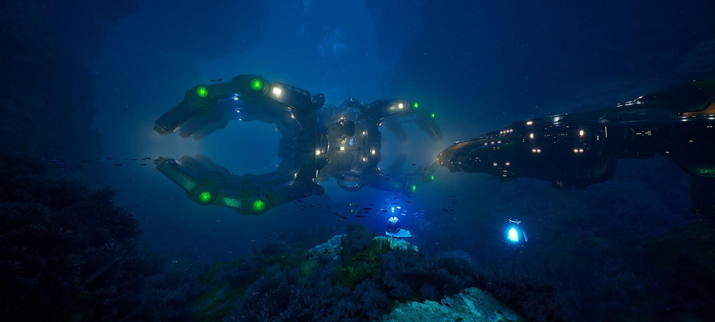 Релизный трейлер и оценки подводного шутера Aquanox Deep Descent