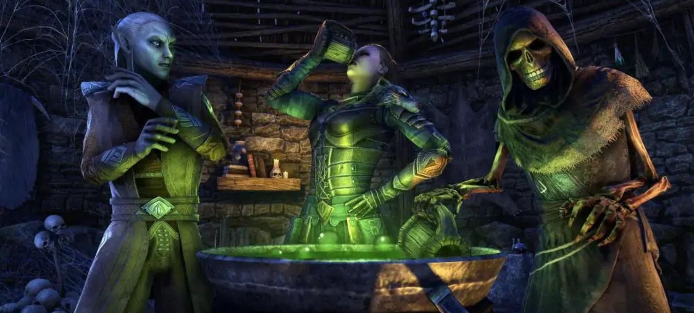 В The Elder Scrolls Online пройдет новый Праздник ведьм