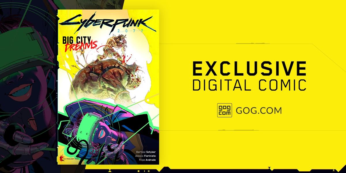 Покупатели Cyberpunk 2077 в GOG получат 50-страничный комикс во вселенной игры