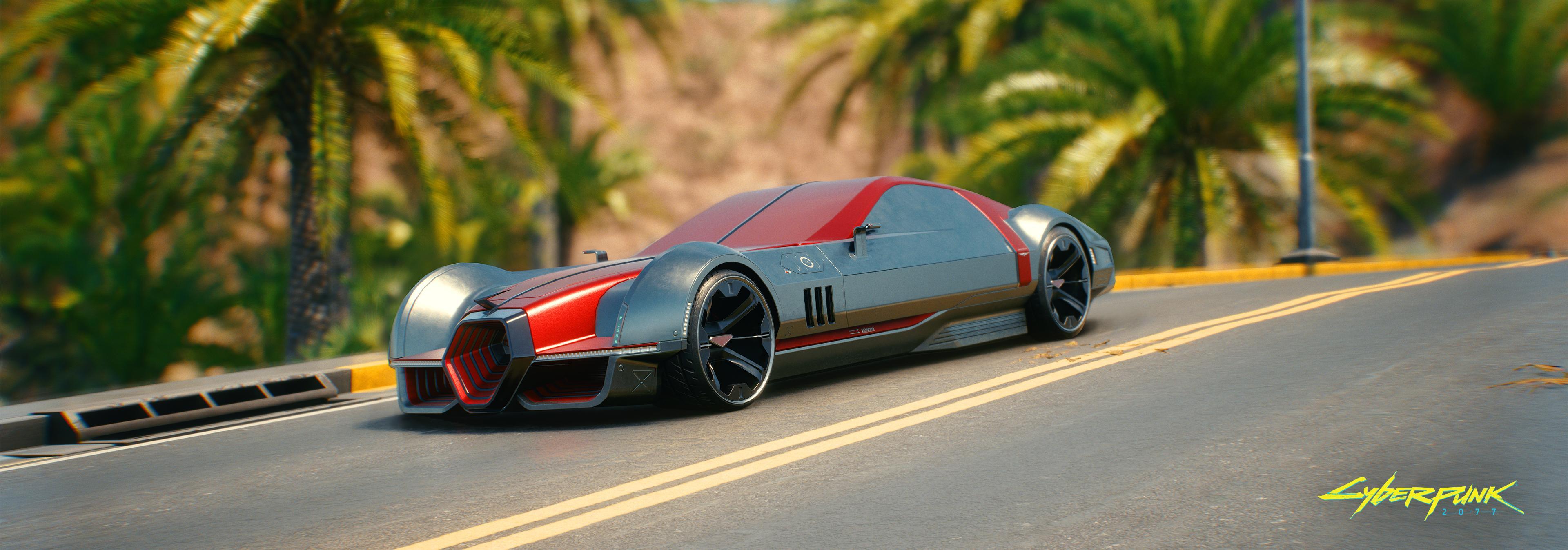 40 скриншотов автомобилей и мотоциклов Cyberpunk 2077