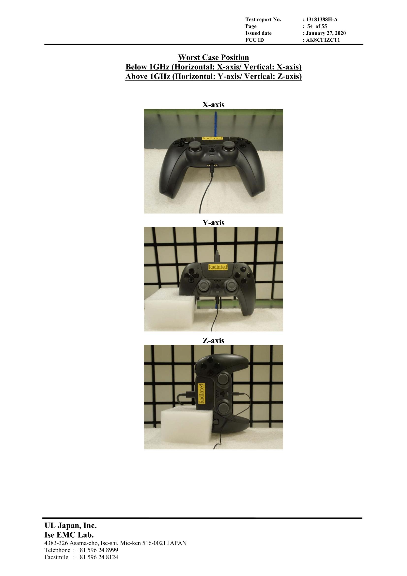 Фото прототипа черного геймпада Dualsense для PS5