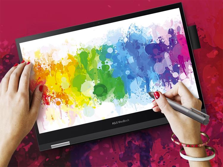 Asus VivoBook Flip 14 — первый ноутбук с дискретной графикой Intel DG1