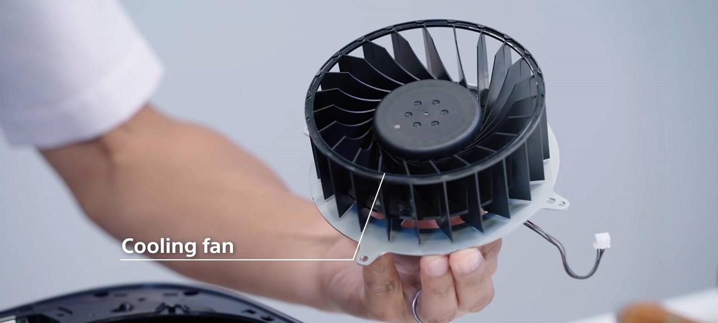 Sony сможет контролировать скорость вращения кулера в PS5 с помощью патчей
