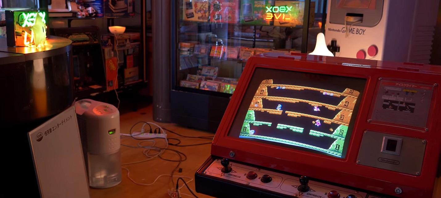 Японский энтузиаст собрал потрясающую коллекцию видеоигр и игровых автоматов