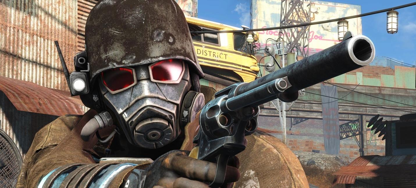 Геймплейный трейлер мода Fallout 4 New Vegas