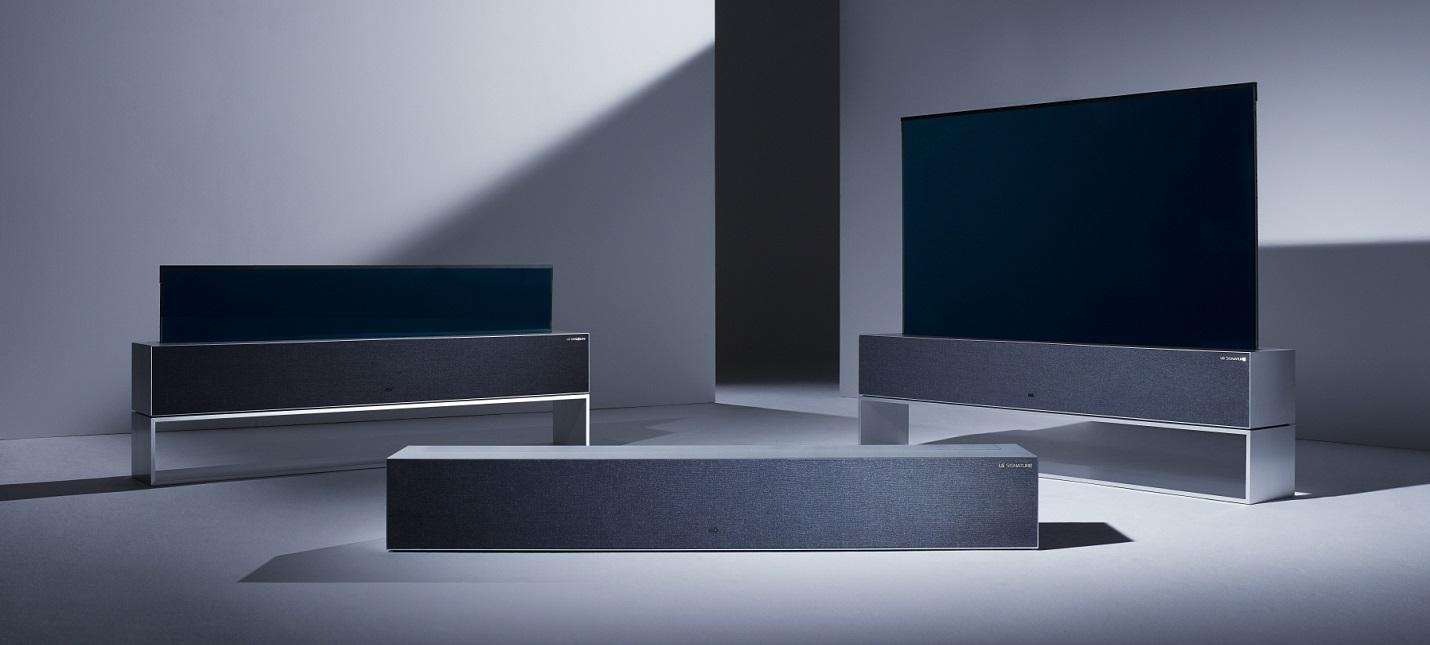 LG Signature OLED R   сворачивающийся телевизор за 87 тысяч долларов
