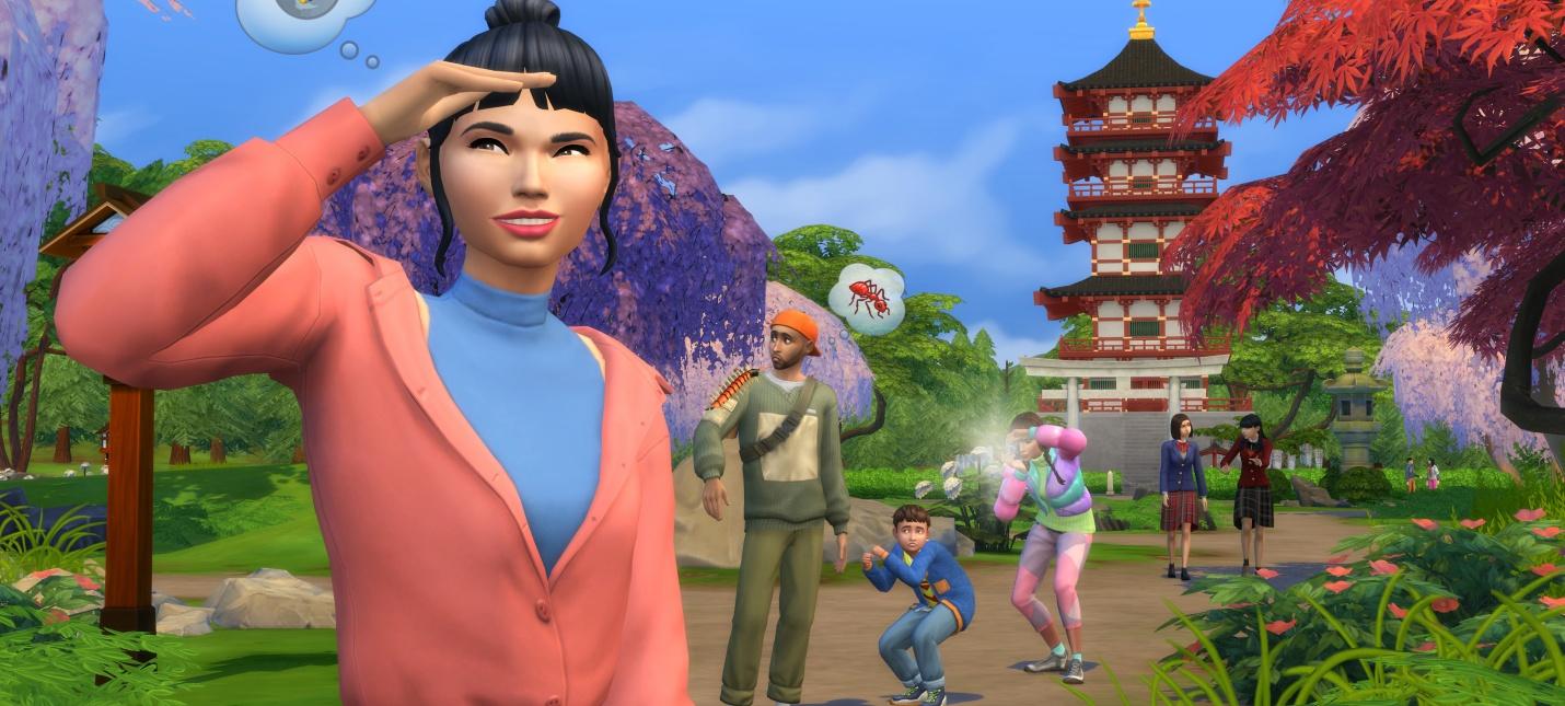 Познай дзэн  детали и трейлер дополнения Снежные просторы для The Sims 4