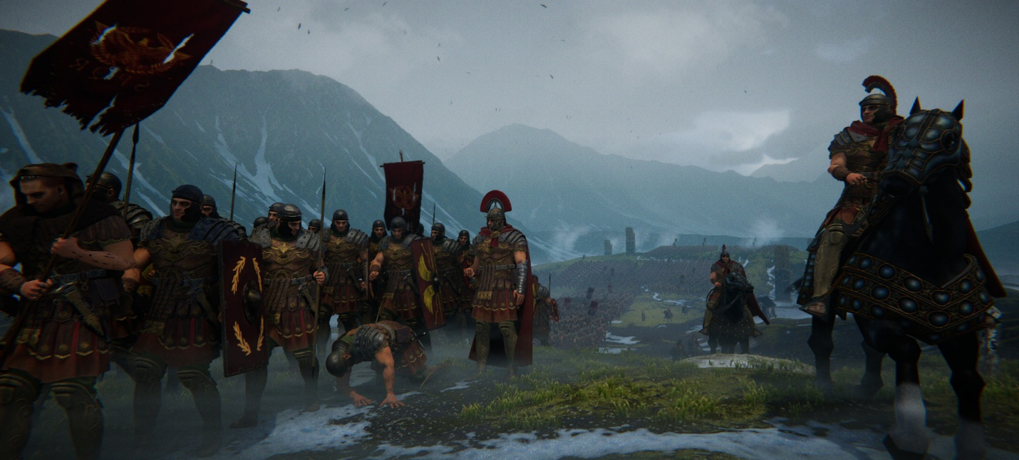 Анонсирована стратегия про Римскую империю Roman Empire Wars