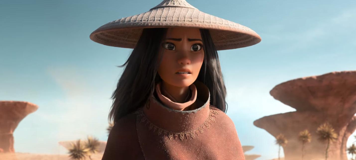 Тизер-трейлер нового мультфильма Disney Райя и последний дракон