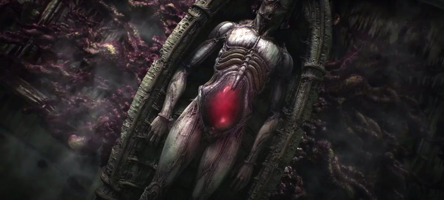 13 минут геймплея хоррора Scorn на Xbox Series X