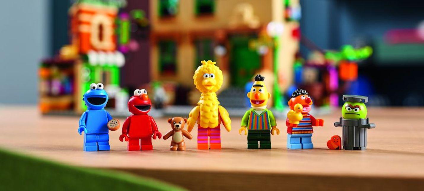 LEGO выпустит набор по Улице Сезам