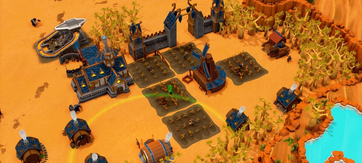 Строительство, добыча ресурсов и война гномов в релизном трейлере ранней версии стратегии DwarfHeim