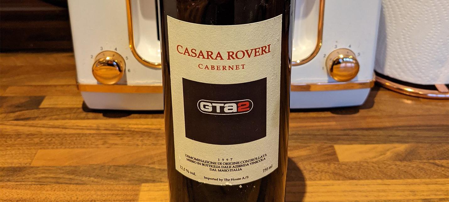 Этой нетронутой бутылке вина GTA 2 исполнился 21 год