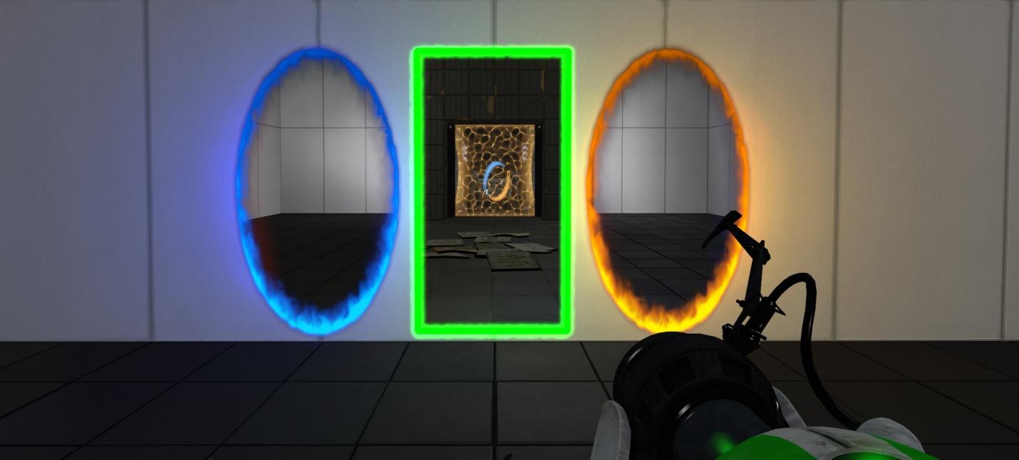 Для Portal 2 выйдет мод с порталом времени
