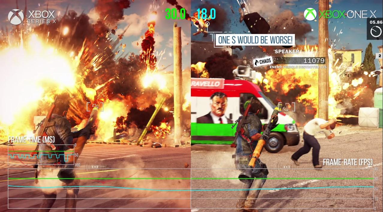 Digital Foundry провело тесты на Xbox Series X: Just Cause 3 теперь работает стабильно