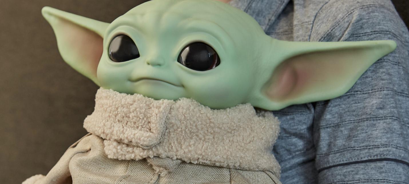 В продаже появился радиоуправляемый малыш Йода
