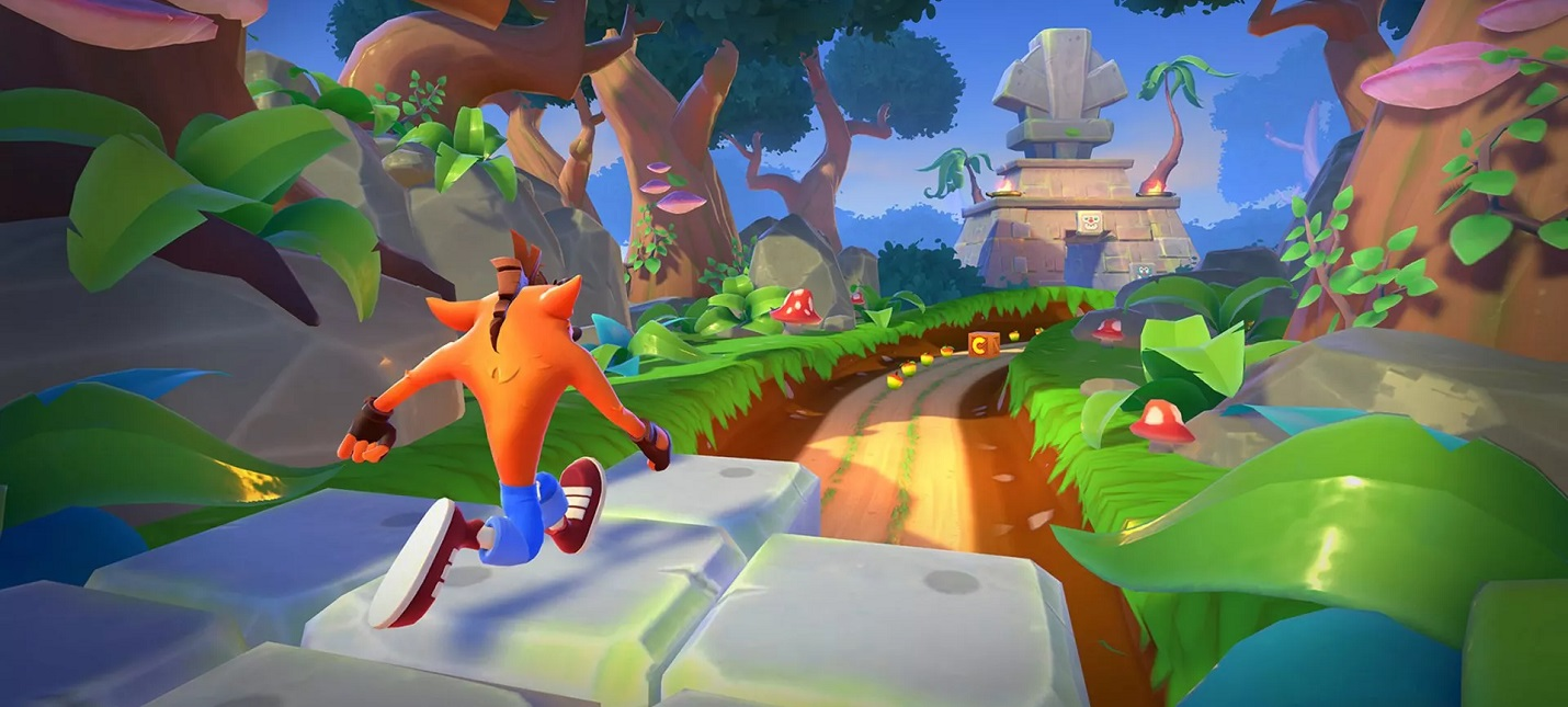 Мобильная Crash Bandicoot On the Run выйдет в марте 2021 года