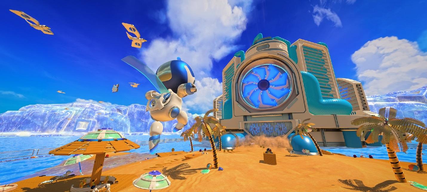 12 минут геймплея Astro's Playroom — предустановленной игры на PS5