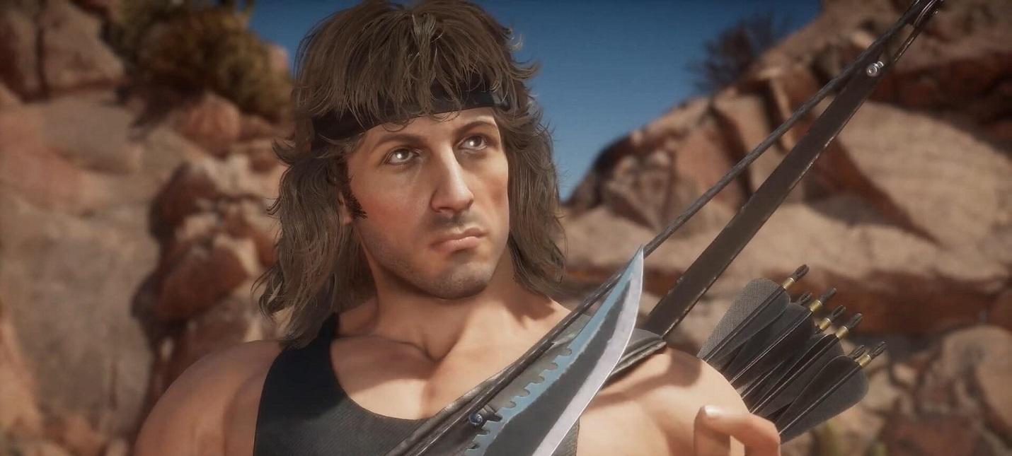 Смертельные приемы и способности Рэмбо в новом трейлере Mortal Kombat 11