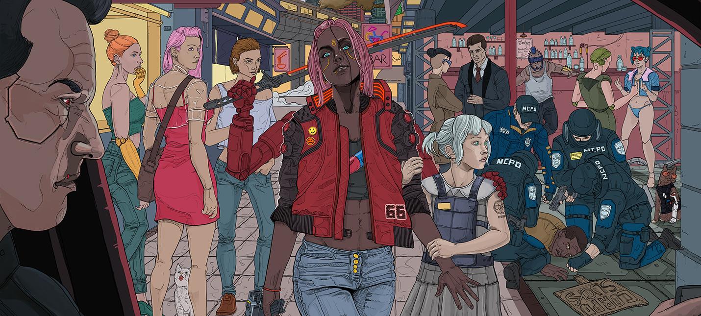 Разработчики Cyberpunk 2077 начали получать сообщения с угрозами после переноса релиза