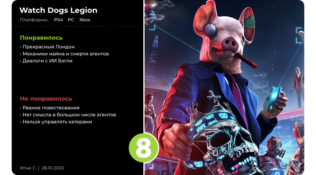 Файф-о-клок сопротивление: Обзор Watch Dogs Legion