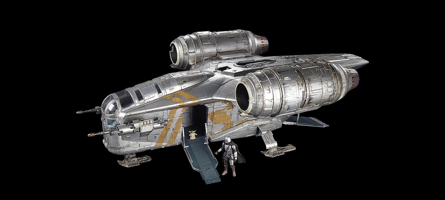 Взгляните на игрушечный корабль Мандалорца за 350