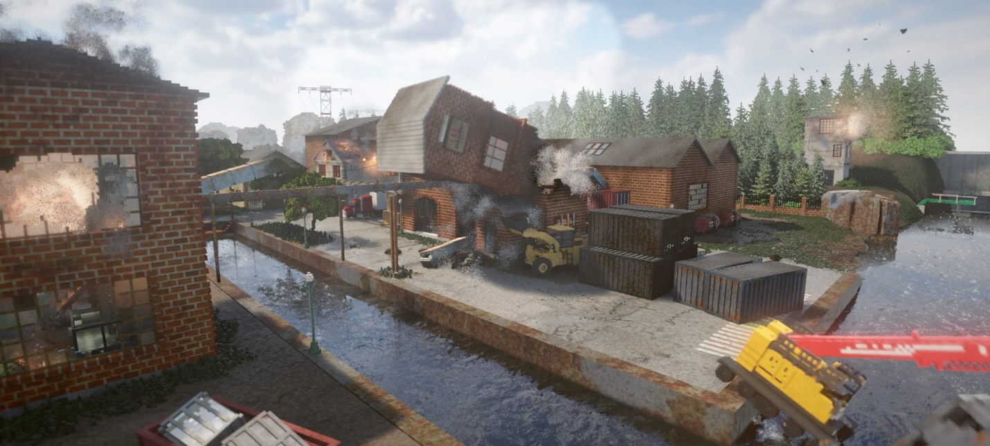 Воксельная песочница Teardown вышла в раннем доступе Steam и оказалась лидером продаж